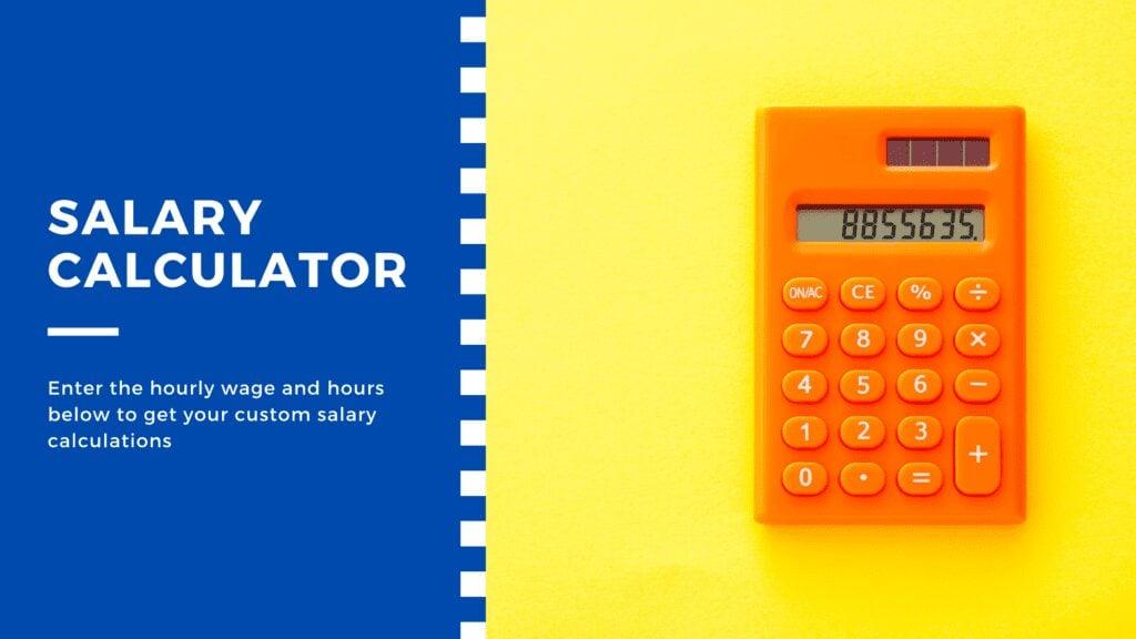 Try the salary calculator below