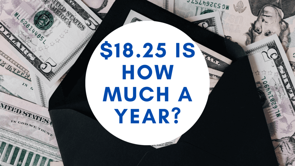 18.25 dollars an hour is how much a year _ hourly to yearly salary conversion