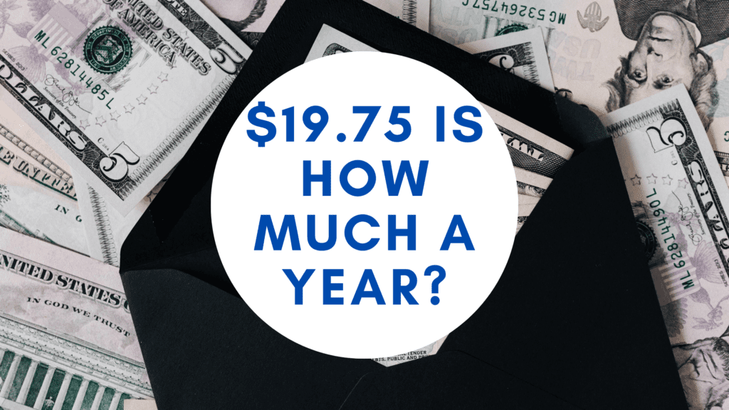 19.75 dollars an hour is how much a year _ hourly to yearly salary conversion